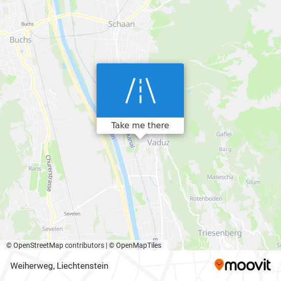 Weiherweg map