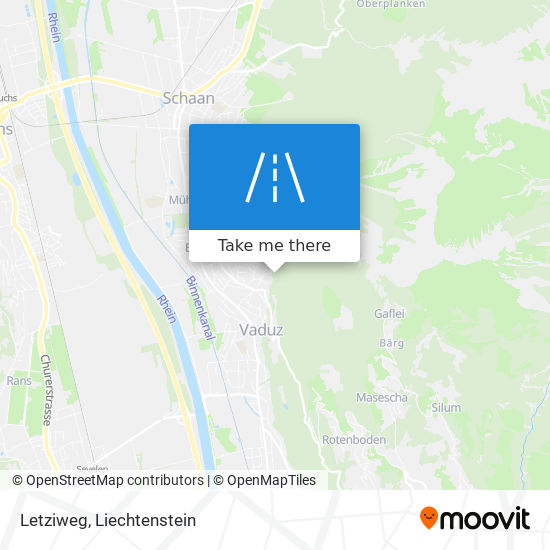 Letziweg map