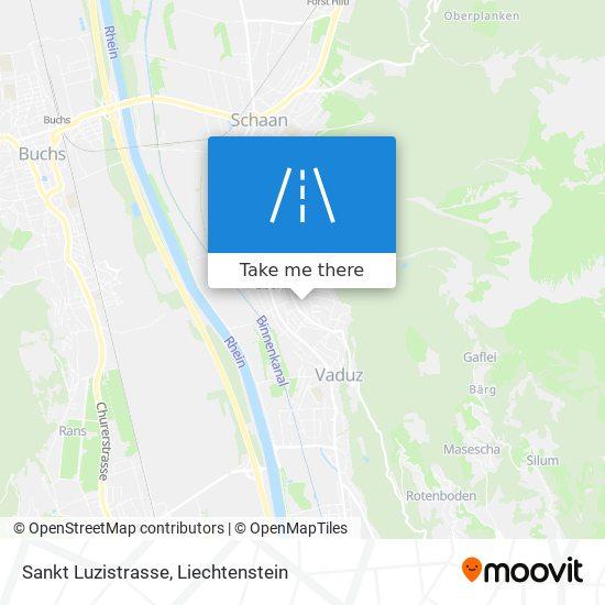 Sankt Luzistrasse map