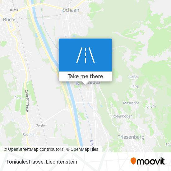 Toniäulestrasse map
