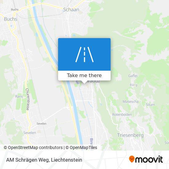 AM Schrägen Weg map