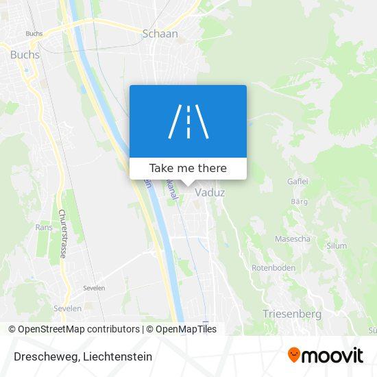 Drescheweg map
