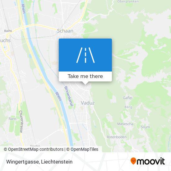 Wingertgasse map