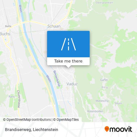 Brandiserweg map