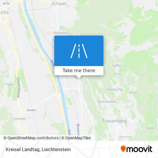 Kreisel Landtag map