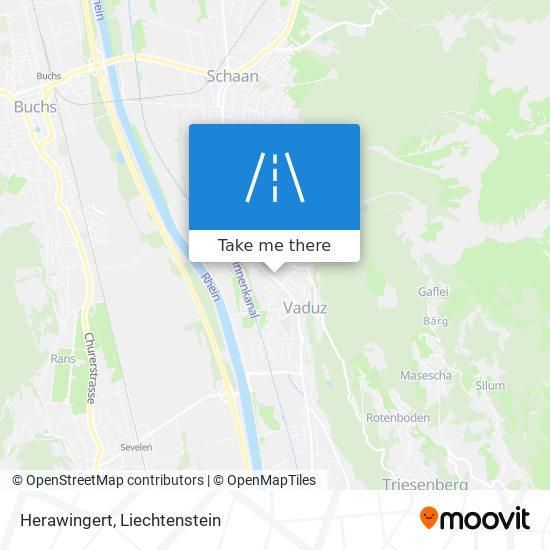 Herawingert map