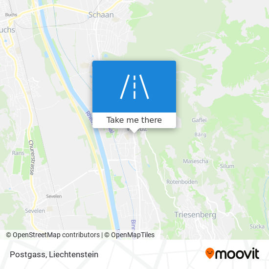 Postgass map