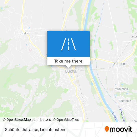 Schönfeldstrasse map