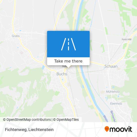 Fichtenweg map