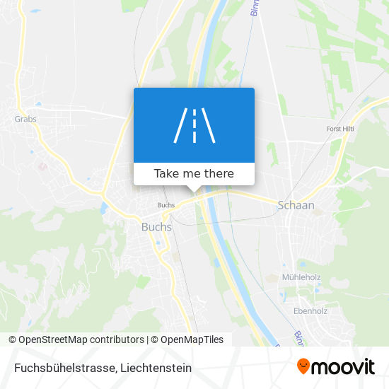 Fuchsbühelstrasse map