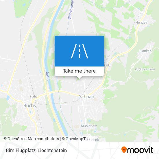 Bim Flugplatz map