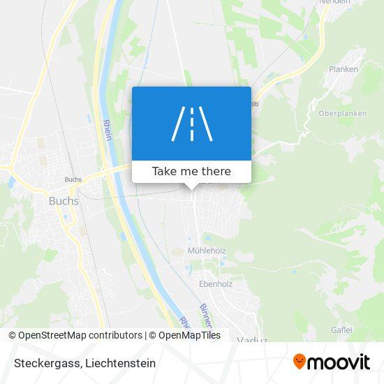 Steckergass map
