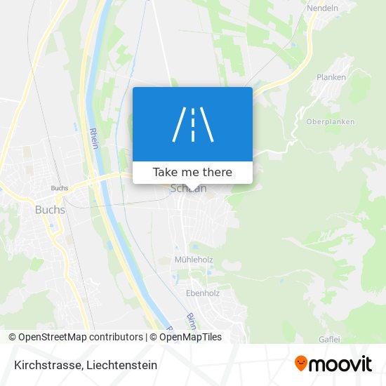 Kirchstrasse map
