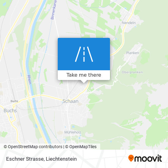 Eschner Strasse map