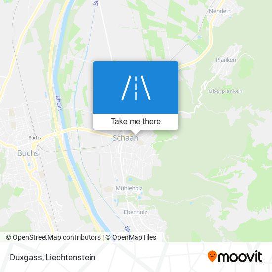 Duxgass map