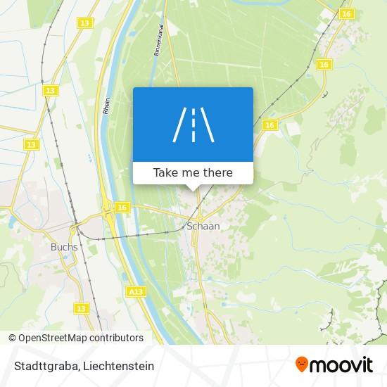 Stadttgraba map