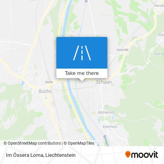 Im Össera Loma map