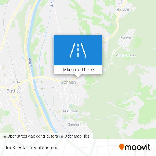 Im Kresta map