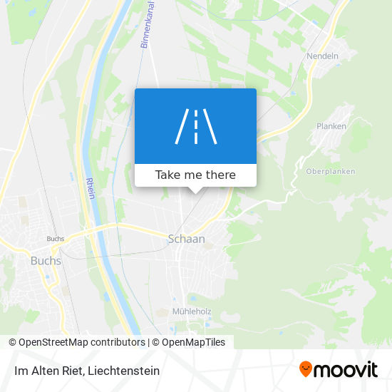 Im Alten Riet map