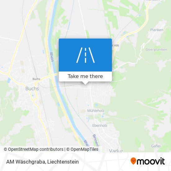AM Wäschgraba map