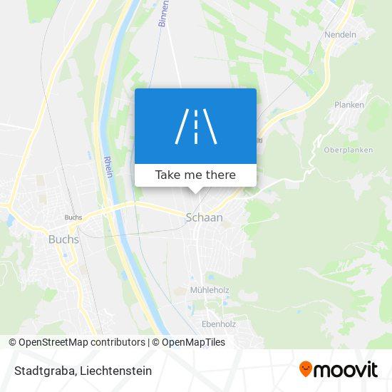 Stadtgraba map