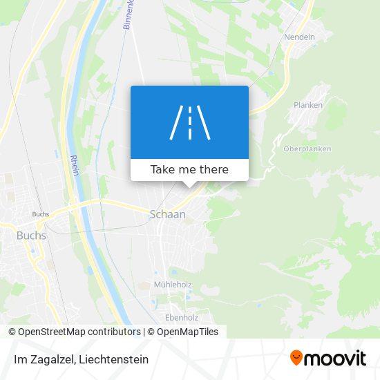 Im Zagalzel map