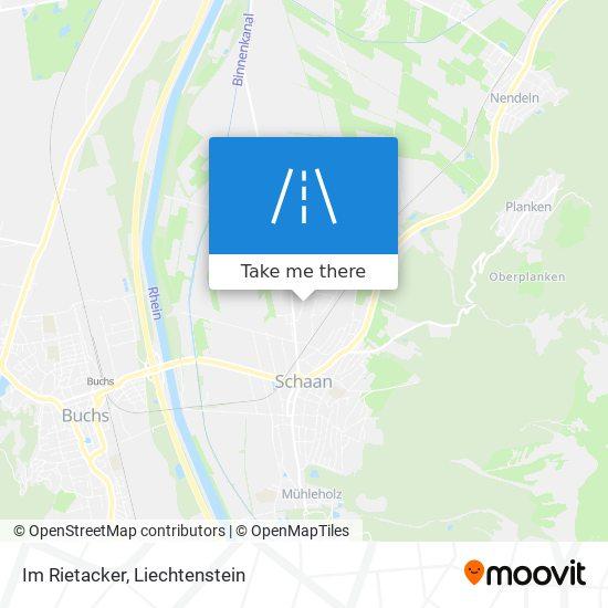 Im Rietacker map