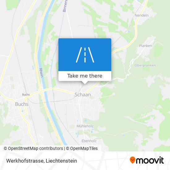 Werkhofstrasse map