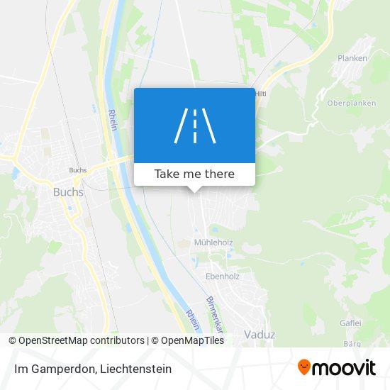 Im Gamperdon map