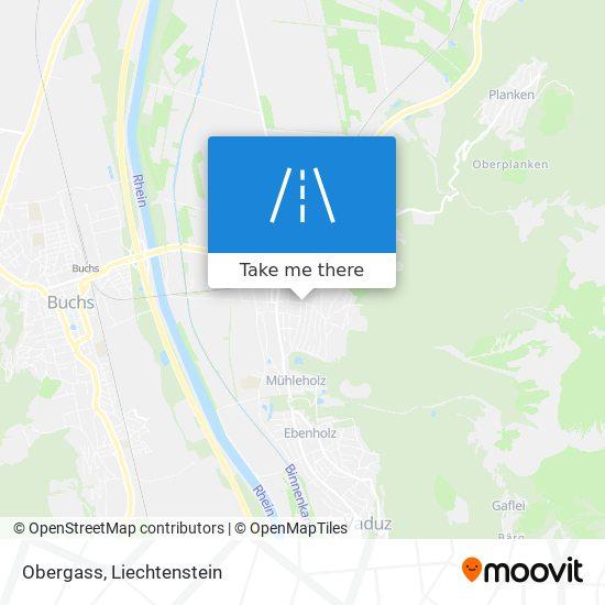 Obergass map