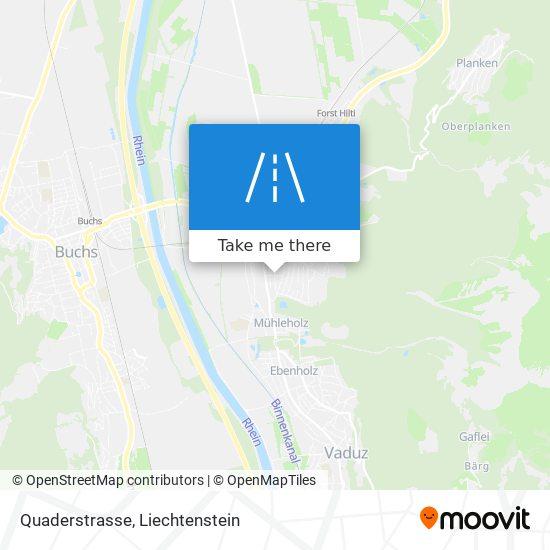 Quaderstrasse map