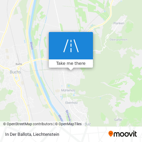 In Der Ballota map