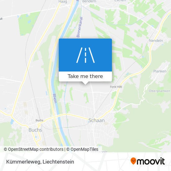 Kümmerleweg map