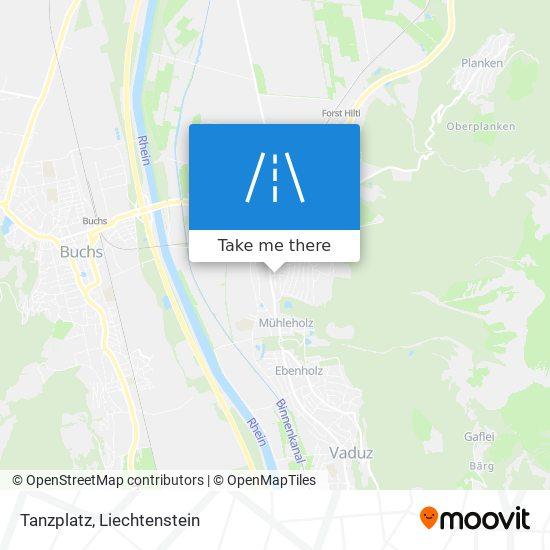 Tanzplatz map