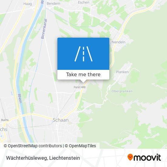 Wächterhüsleweg map