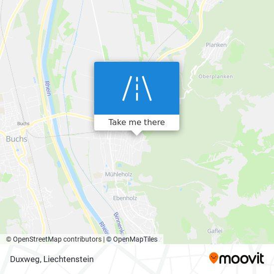 Duxweg map
