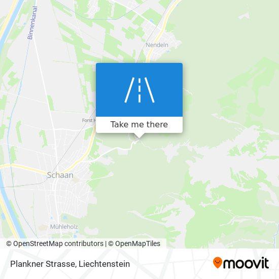 Plankner Strasse map