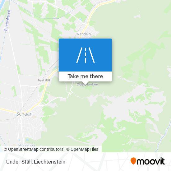Under Ställ map