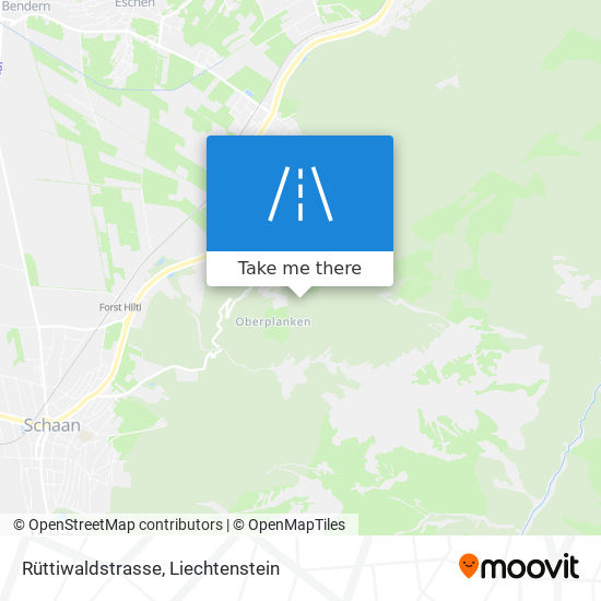 Rüttiwaldstrasse map