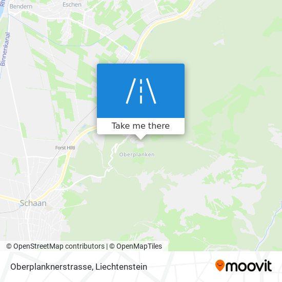 Oberplanknerstrasse map