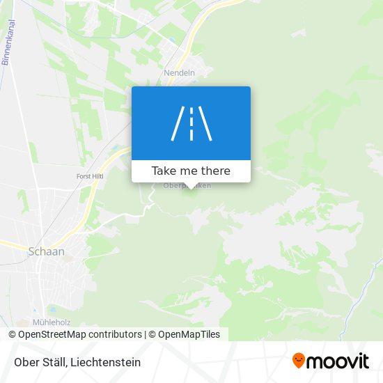 Ober Ställ map