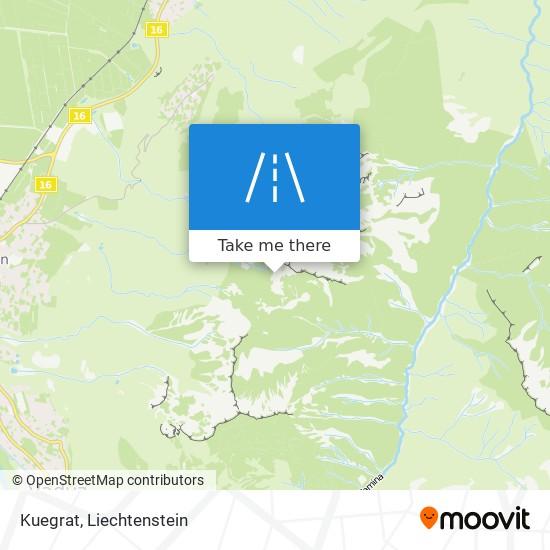 Kuegrat map