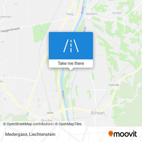 Medergass map