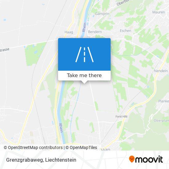 Grenzgrabaweg map