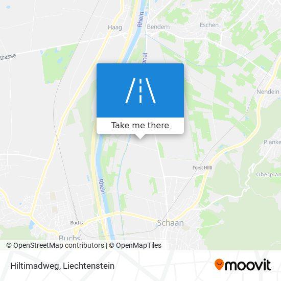 Hiltimadweg map