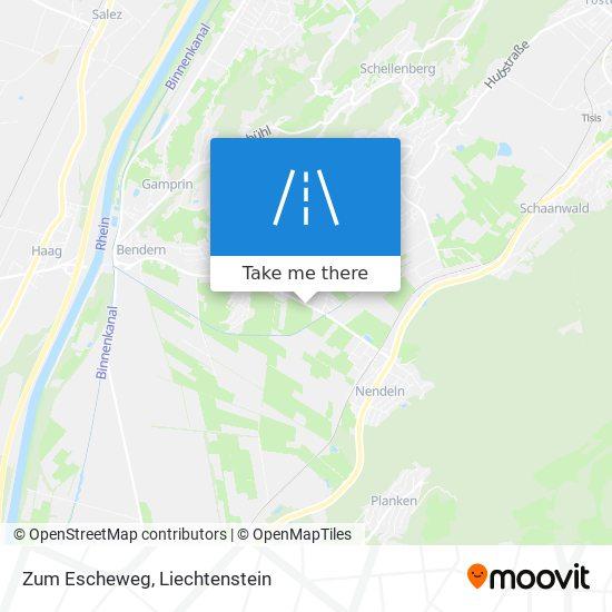 Zum Escheweg map