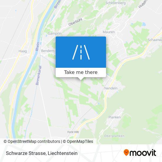 Schwarze Strasse map