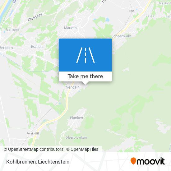 Kohlbrunnen map