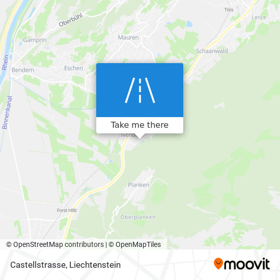 Castellstrasse map