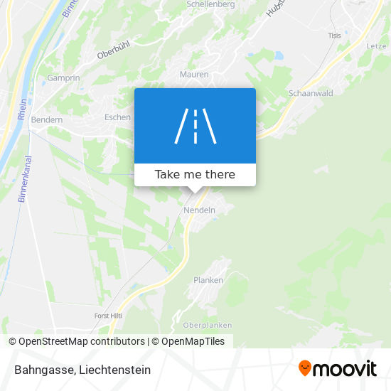Bahngasse map